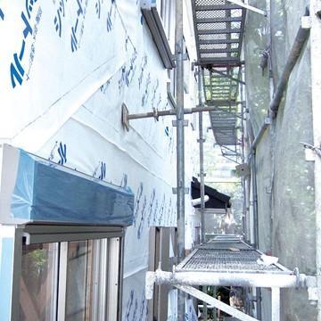 エムエフ MF 透湿防水シート シットール 50【点線&ロゴ印刷あり】 1000mm×50m 10本 外壁下地材|yojo|06