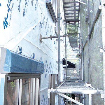 エムエフ MF 透湿防水シート シットール 50【点線&ロゴ印刷あり】 1000mm×50m 2本 外壁下地材|yojo|06