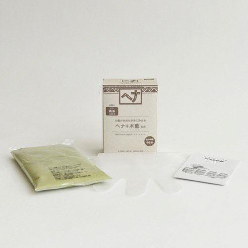 ナイアード ヘナ+木藍(もくらん) 茶系 100g 白髪染め|yoka1|03