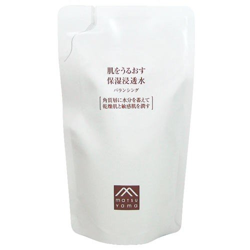 松山油脂 肌をうるおす 保湿浸透水 バランシング 詰替用110mL (化粧水) yoka1