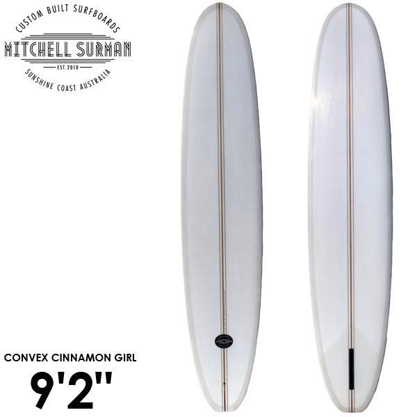 正規品販売! MS SURFBOARDS エムエスサーフボード CONVEX CONVEX CINNAMON CINNAMON GIRL 9'2