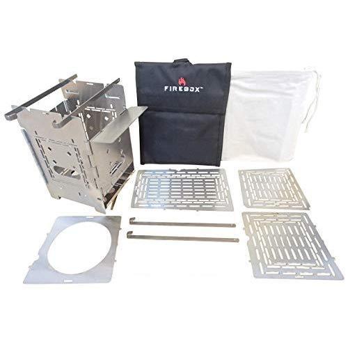 FIREBOX(ファイヤーボックス) G2 ストーブ Complete Set コンプリート セット バーベキューコンロ 焚火台 5インチ ウッ