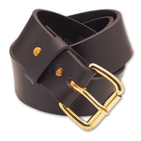 FILSON 1 1/2 Inch Leather Belt (黒/褐色/Tan) #11063202