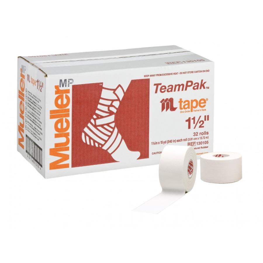 Mueller  足首用 非伸縮ホワイトプロテープ(38mm) (32個) #130105MJ