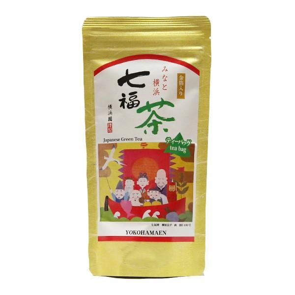 みなと横浜金箔入り七福茶ティーバック   [2g×12ヶ入] yokohamaen-cha