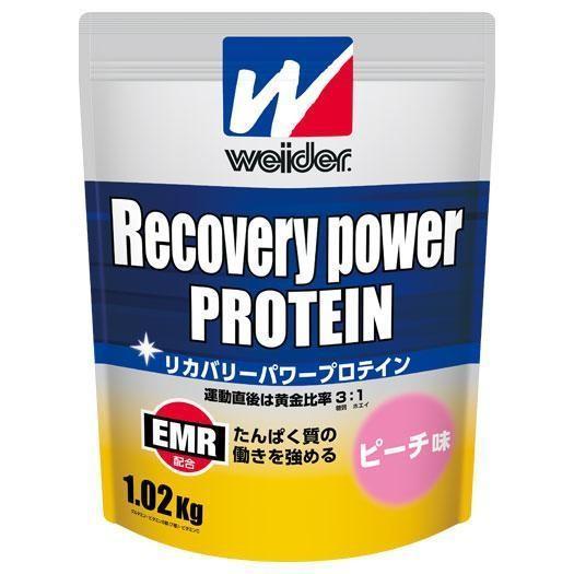 ミズノ 森永製菓/ウイダー リカバリーパワープロテイン3.0kg(ピーチ味) ※(28mm12303)