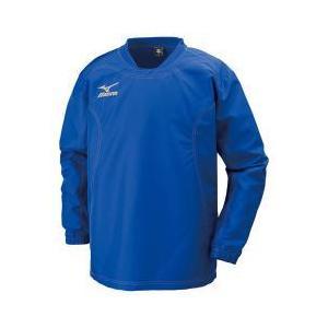 ミズノ タフブレーカーシャツ(ラグビー)[メンズ] 25&nbspサーフブルー(r2me600225)