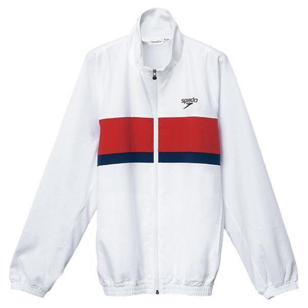 スピード 水泳 カラーブロックウインドジャケット 16SS ホワイト ウィンドブレーカー(sd12f11-w)