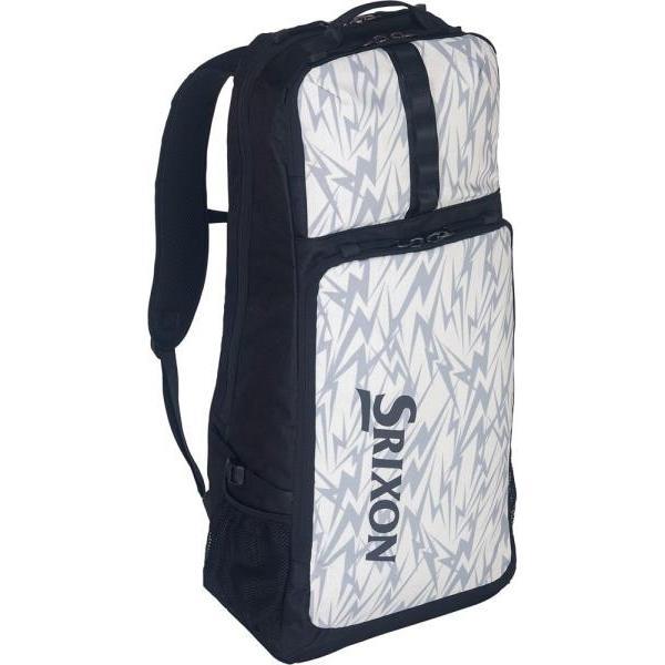 ダンロップ テニス ラケットバッグ(ラケット2本収納可) 19SS ホワイト バッグ(spc2910-003)