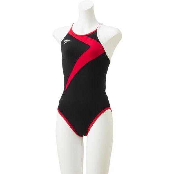 スピード 水泳 クイックターンズスーツ 19FW レッド 水着(stw01902-re)
