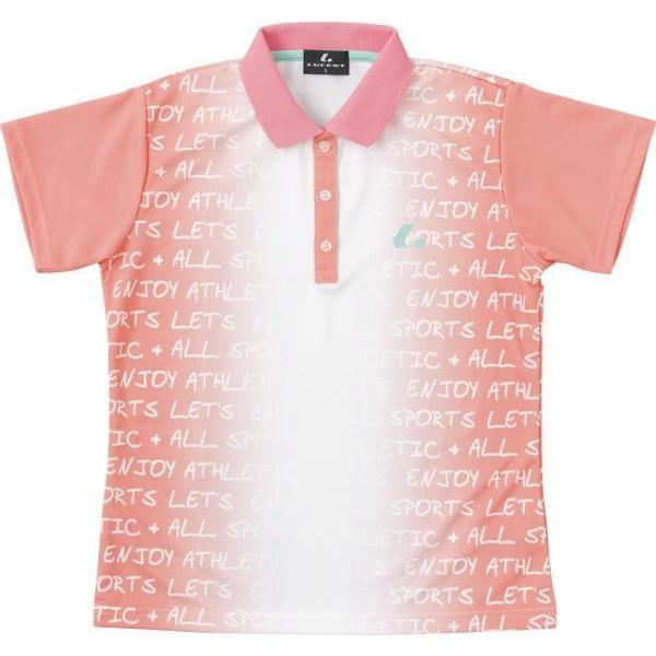ルーセント テニス レディース ゲームシャツ ライトピンク 18SS ライトピンク ケームシャツ・パンツ(xlp4851)