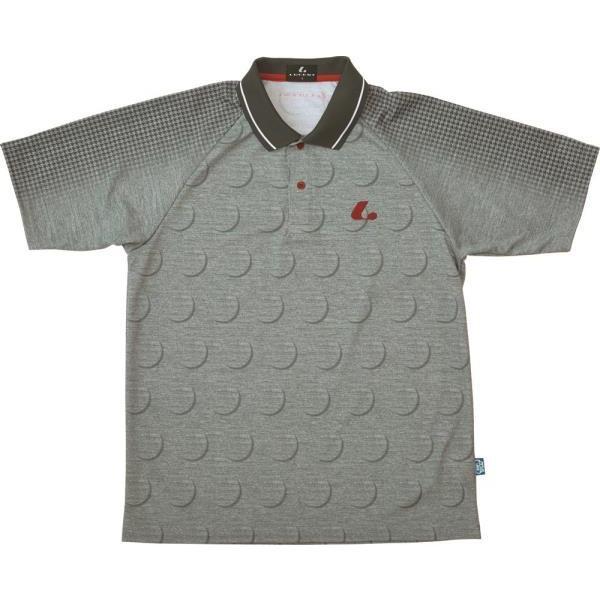 ルーセント テニス UNIゲームシャツXLP8229 16FW グレー ケームシャツ・パンツ(xlp8229)