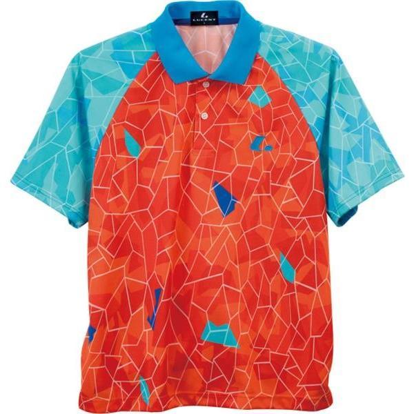ルーセント テニス ユニセックス ゲームシャツ オレンジ 17FW オレンジ ケームシャツ・パンツ(xlp8412)