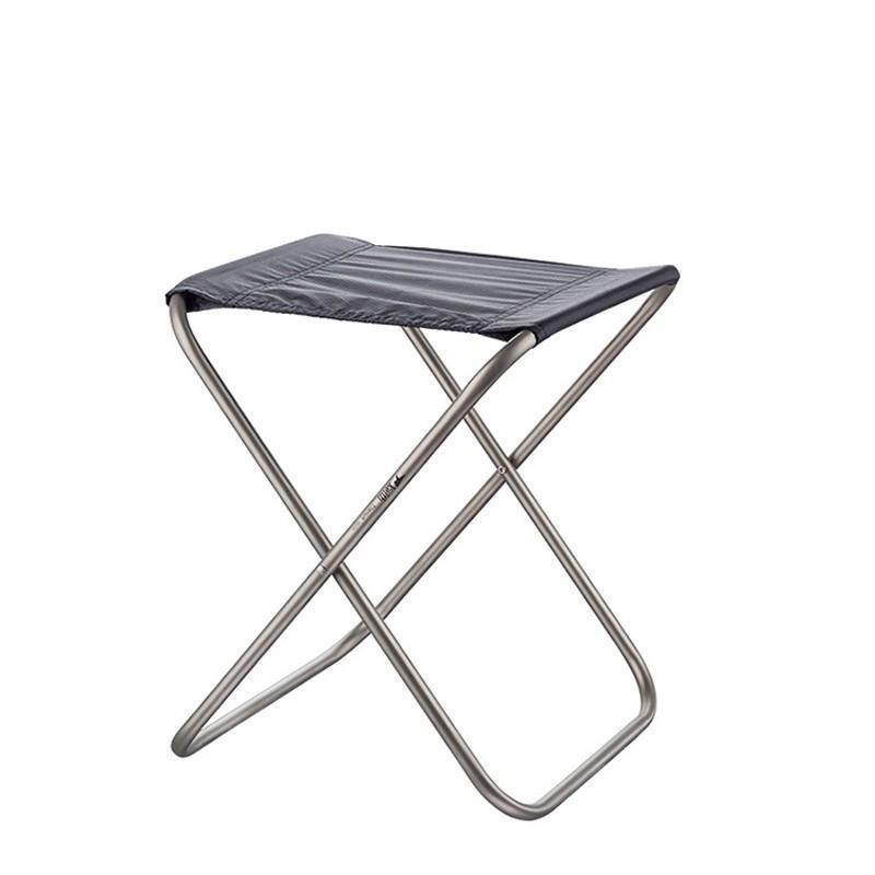 アウトドアチェア 折りたたみ椅子 コンパクト 超軽量椅子 チタン製 約310g 簡単に収納 組み立て キャンプ dscj015