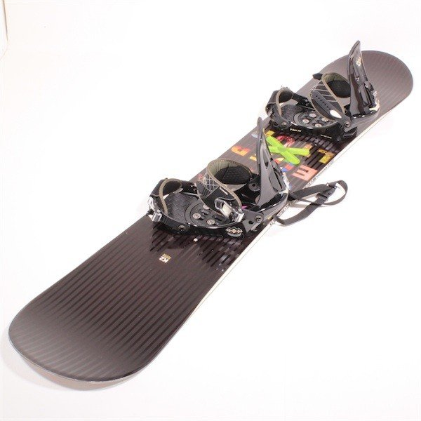 K2×SALOMON 2点セット ボードケース付 サイズ157cm 【中古】スノーボード2点セット スノボ 板 バインディング ボードセット ケーツー サロモン 型落ち