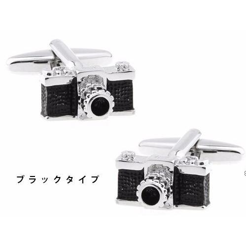 カメラ型カフス カフリングス 1眼レフタイプ yokota-camera