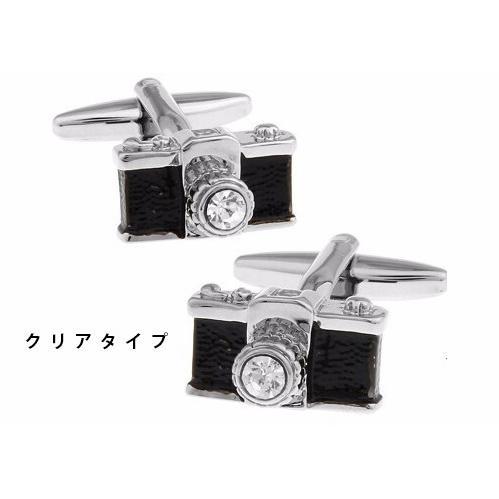 カメラ型カフス カフリングス 1眼レフタイプ yokota-camera 02