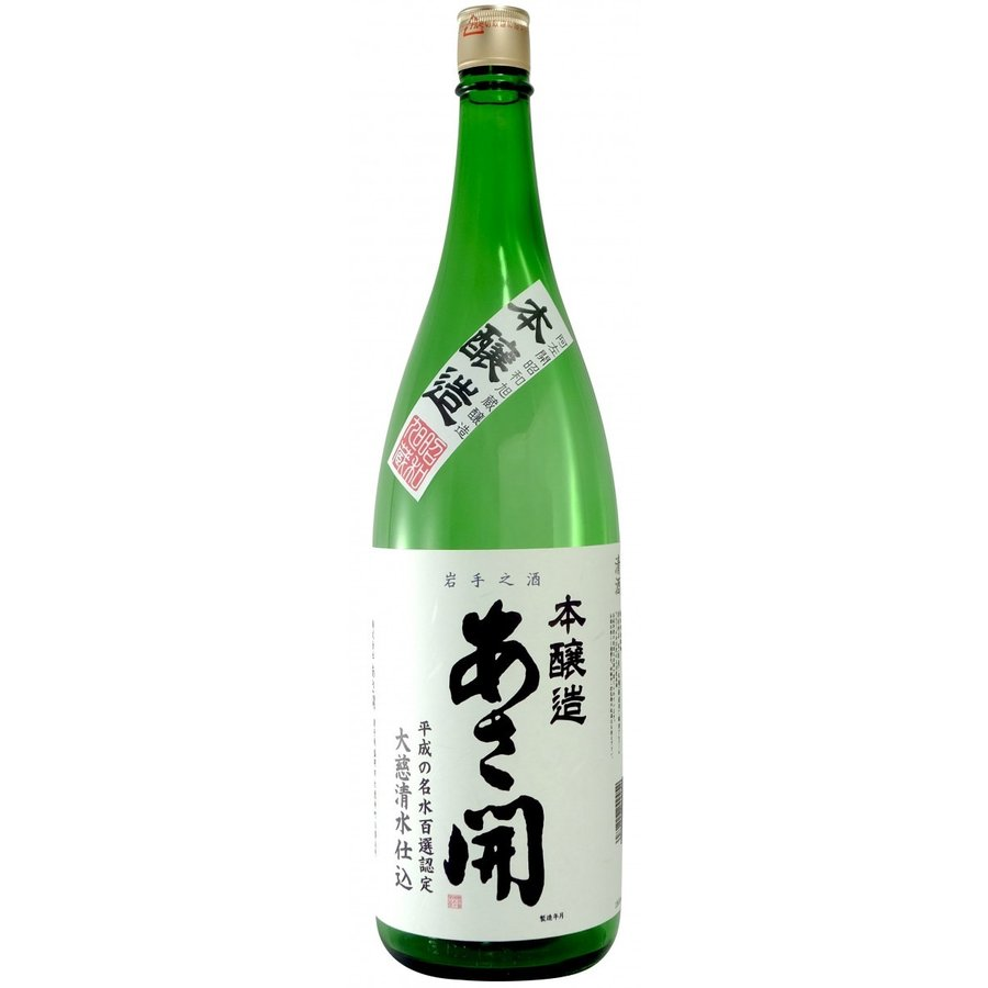 あさ開 昭和旭蔵 本醸造1.8L|yomo-akasaka