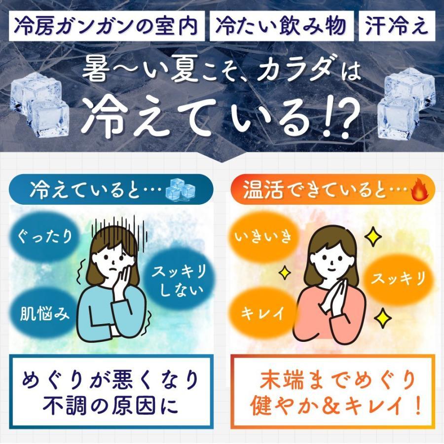 温活 冷え サプリ ひだまりショウガ 冷え対策 ショウガオール ショウガ サプリ60粒30日分 yonekichi 04
