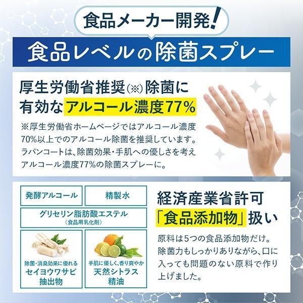 【詰め替え用】除菌スプレー 食品にも使える ラパンコート 日本製 大容量 アルコール 77% 除菌 抗菌 消臭 1000ml|yonekichi|05