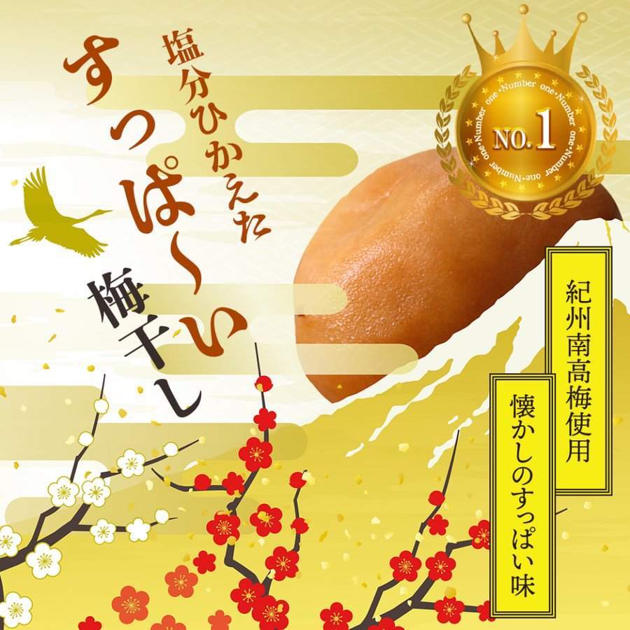 梅干し 送料無料 減塩 紀州南高梅 塩分ひかえたすっぱい梅干し 塩分12% 500g|yonekichi|02