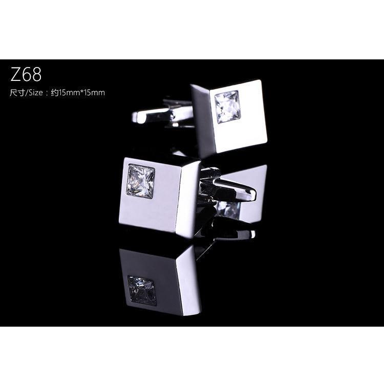 カフス カフスボタン 2個セット おしゃれ セット シンプル メンズ 格子 ビジネス フォーマル  ビジネス 紳士用 男性用 オシャレ 【定形外で発送】|yorokobiya|11