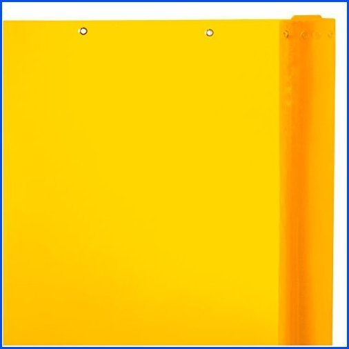 【新品】Steiner 334-60-25GR Arcview 14 Mil Flame Retardant Tinted Transparent Vinyl Curtain Roll, Yellow, 60-Inch x 25-Yard【並行輸