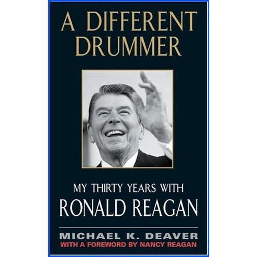 【新品】A Different Drummer: My Thirty Years with Ronald Reagan【並行輸入品】