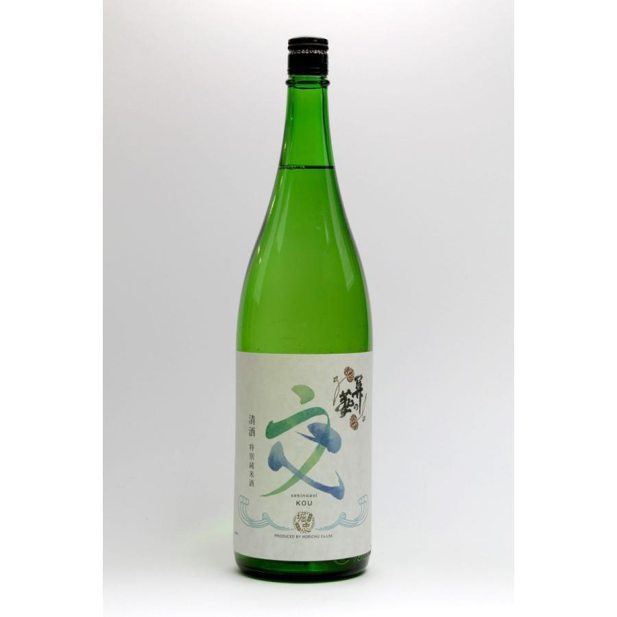 純米吟醸酒 關の葵 交  (せきのあおいこう) 1本 1800ml|yorozuyasan