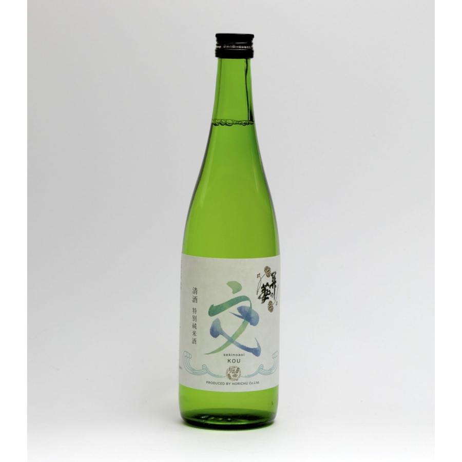 純米吟醸酒 關の葵 交  (せきのあおいこう) 1本 720ml|yorozuyasan