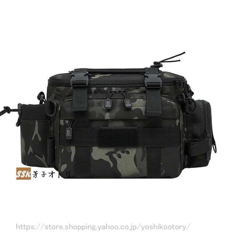 ショルダーバッグ ウエストバッグ 釣り バッグ 3way 防水 フィッシングバック 迷彩柄 大容量 多機能 バッグ カバン かばん|yoshikootory|14