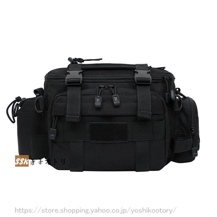 ショルダーバッグ ウエストバッグ 釣り バッグ 3way 防水 フィッシングバック 迷彩柄 大容量 多機能 バッグ カバン かばん|yoshikootory|18