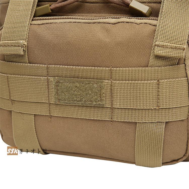 ショルダーバッグ ウエストバッグ 釣り バッグ 3way 防水 フィッシングバック 迷彩柄 大容量 多機能 バッグ カバン かばん|yoshikootory|20