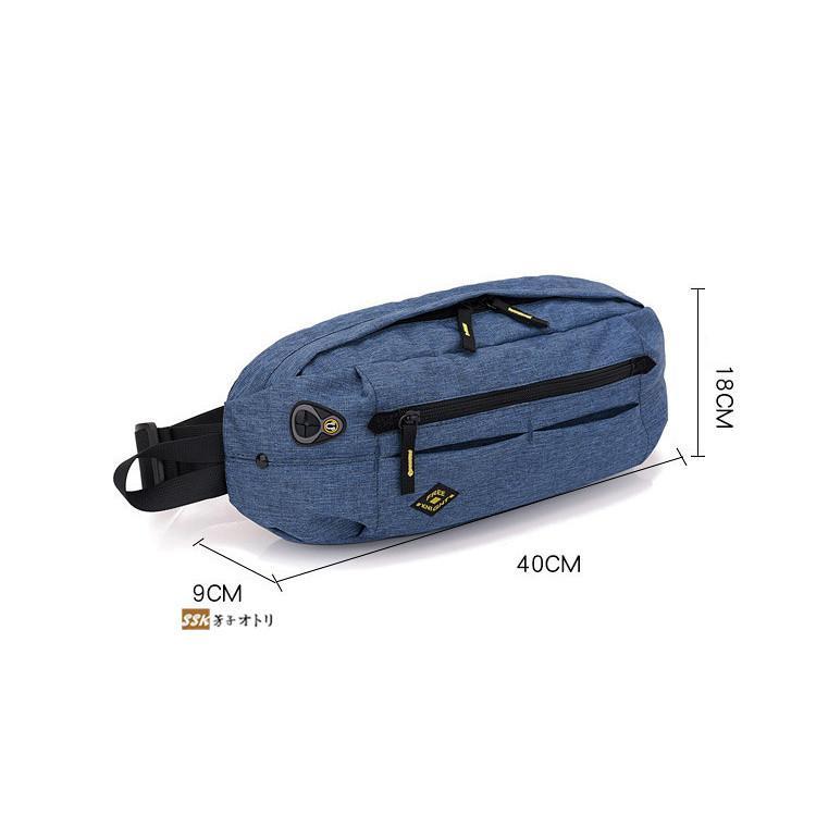 ボディバッグ メンズ レディース ショルダーバッグ ファニーパック 3way メンズバッグ サコッシュ|yoshikootory|02