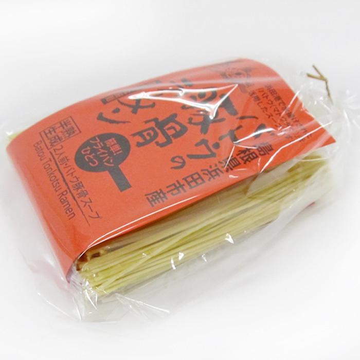 発売1周年 特別価格 バトウラーメン 豚骨 味噌 2種セット マトウダイ 12食  ご当地 浜田 お取り寄せ こだわり|yoshitora|11