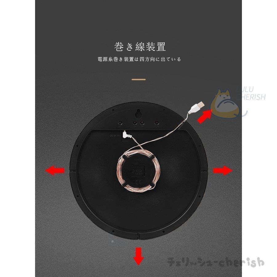 温湿度計 高輝度 LED バックライトマルチ 温度計 湿度計 時計 大画面  壁掛け壁掛け時計3D LED デジタル 柱時計温度計LEDデジタル柱時計|yoshiyoshikozumi|11