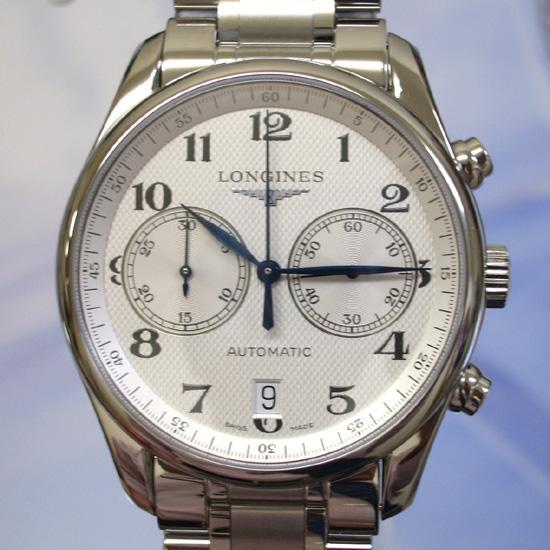 優先配送 ロンジン 腕時計  ロンジン マスターコレクション クロノグラフ L2.629.4.78.6, ボウノツチョウ 9b4a714c