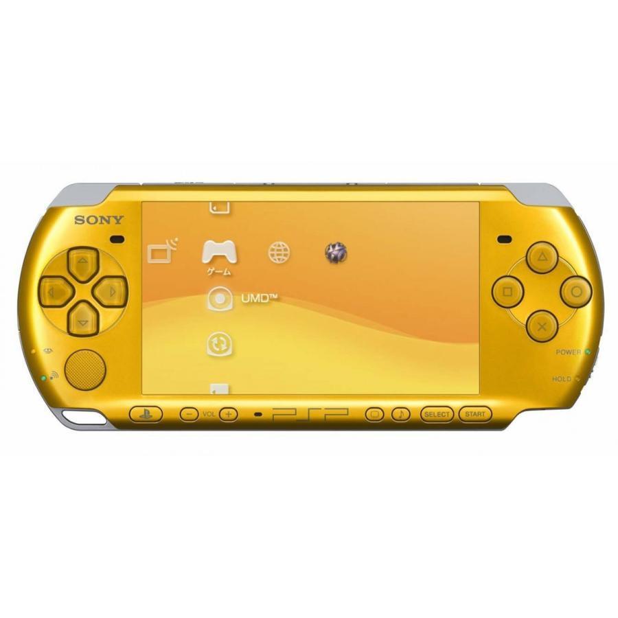 PSP「プレイステーション・ポータブル」 ブライト・イエロー (PSP-3000BY)