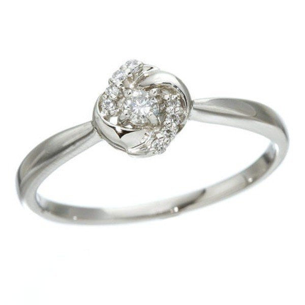 【最安値挑戦!】 プラチナダイヤモンドデザインリング3型 カレイドスコープ 19号, 八街市 377dd738