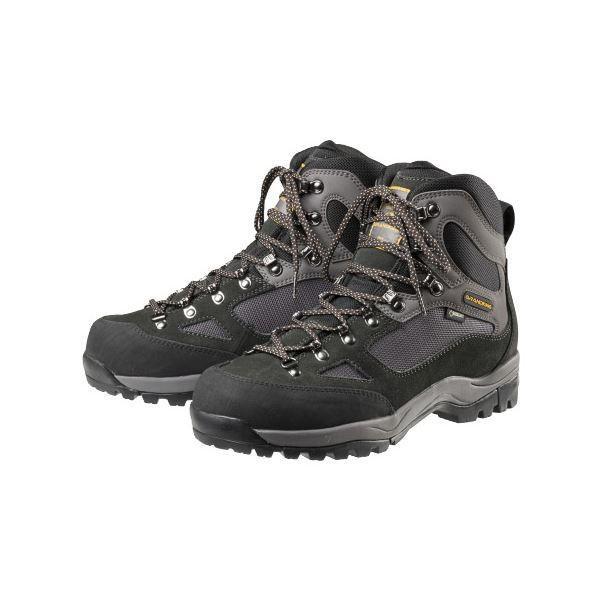 トレッキングシューズ/登山靴 〔パイレーツブラック 26.0cm〕 ゴアテックス フルインソール 『GRANDKING グランドキング GK8X』