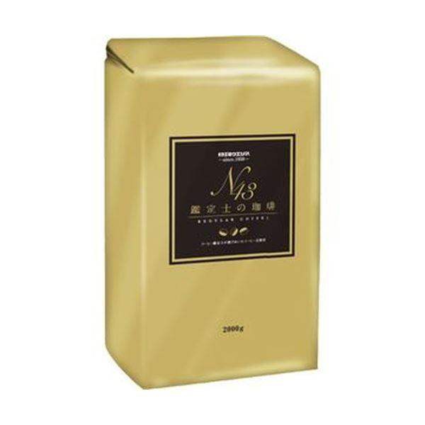 (まとめ)サッポロウエシマコーヒー 鑑定士の珈琲2000g(粉)1袋〔×5セット〕