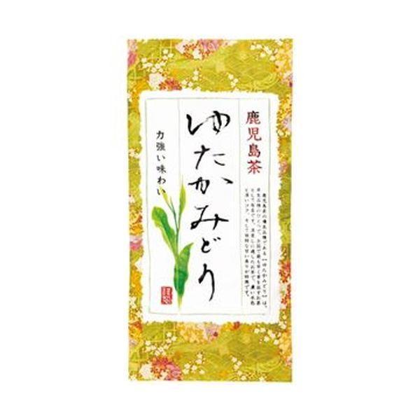(まとめ)健康お茶家族本舗 鹿児島茶 ゆたかみどり100g/袋 1セット(3袋)〔×5セット〕