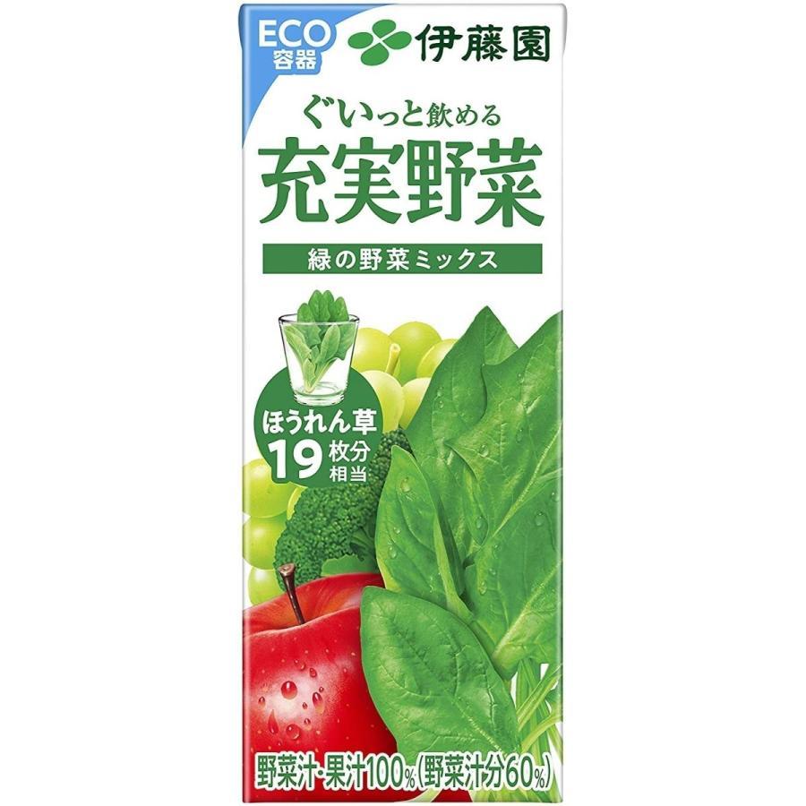 野菜ジュース 伊藤園 よりどり 選べる 2ケース 200ml×48本 紙パック|youbetsuen-y|08