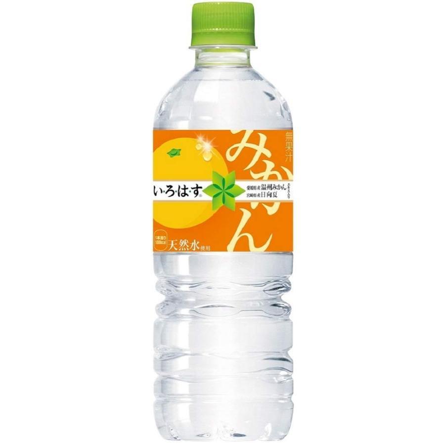 いろはす い・ろ・は・す みかん 555ml×24本×2ケース コカ コーラ (パッケージは変更とな る場合がございます) youbetsuen-y