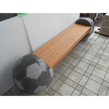 サッカーボールベンチ 直径500x520 アルミ座版付 435kg