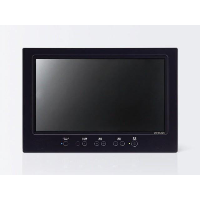 【代引不可】ツインバード 携帯テレビ VB-BS229B [ブラック]