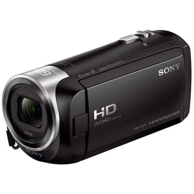 SONY ビデオカメラ HDR-CX470 (B) [ブラック]