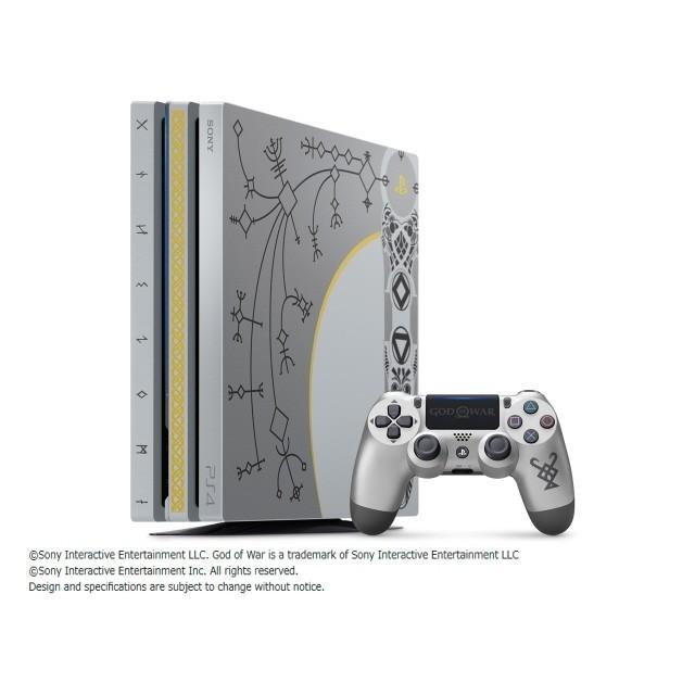 SONY ゲーム機 プレイステーション4 Pro ゴッド・オブ・ウォー リミテッドエディション CUHJ-10021 [1TB]