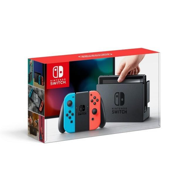 任天堂 ゲーム機 Nintendo Switch [ネオンブルー/ネオンレッド] 【2017年モデル】