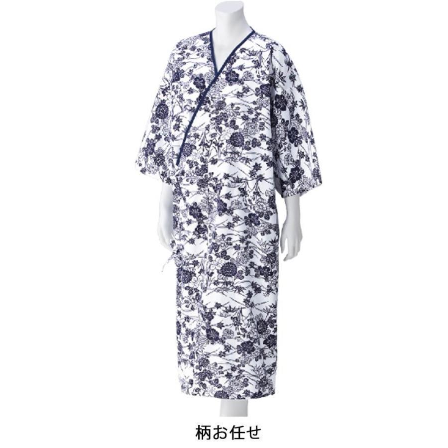当店の記念日 柄お任せ らくらくガーゼねまき(婦人) 38865-介護用品